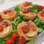 Tartare de Saumon aux fines herbes le concurrent gourmand traiteur mariage receptions 78