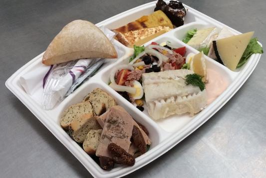 Plateau repas prems Choix numéro Menu10 - Traiteur Nanterre le concurrent gourmand
