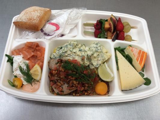 Plateau repas prems Choix numéro Menu11 - Traiteur Nanterre le concurrent gourmand