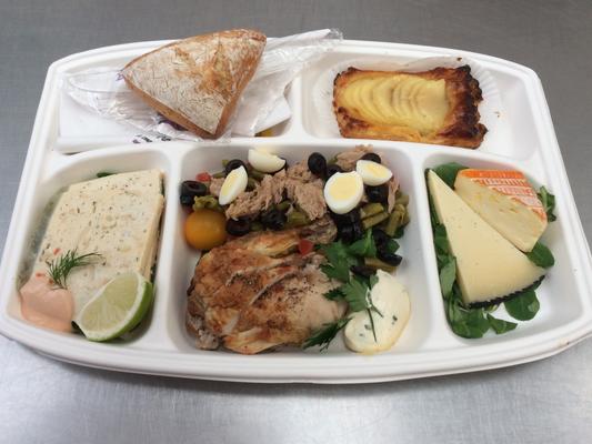 Plateau repas prems Choix numéro Menu2  - Traiteur Nanterre le concurrent gourmand