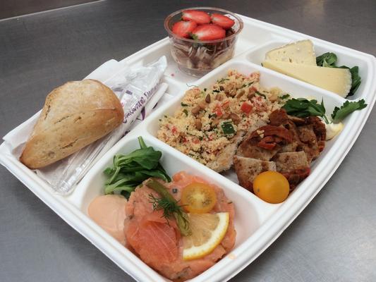 Plateau repas prems Choix numéro Menu3  - Traiteur Nanterre le concurrent gourmand