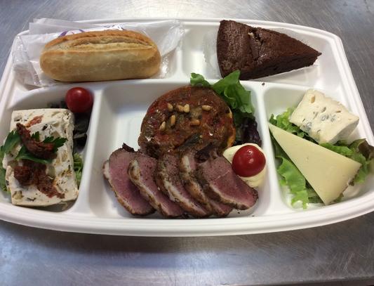 Plateau repas prems Choix numéro Menu4  - Traiteur Nanterre le concurrent gourmand