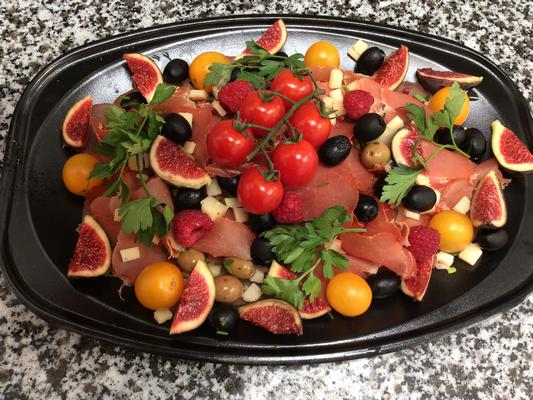 Plateau repas prems Choix numéro Menu8 - Traiteur Nanterre le concurrent gourmand