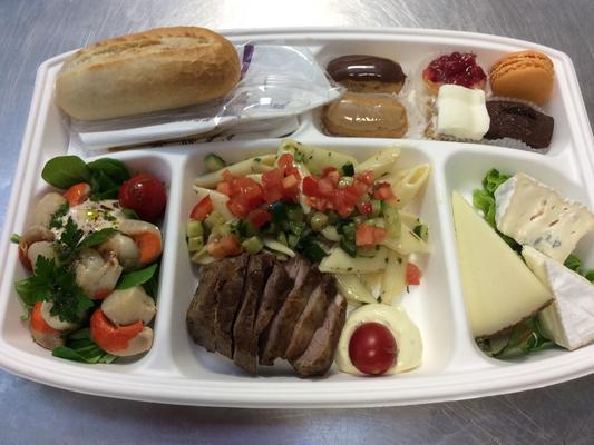 Plateau repas prems Choix numéro Menu9 - Traiteur Nanterre le concurrent gourmand