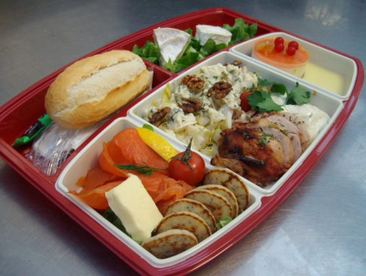 Plateaux menu classik ou classique le concurrent gourmand traiteur nanterre 92